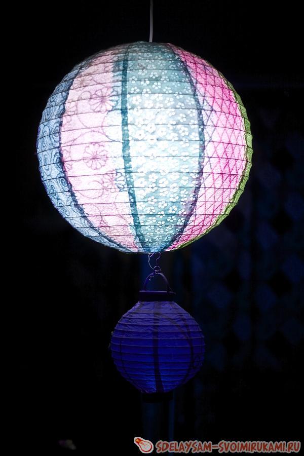 приключения бумажного светильника