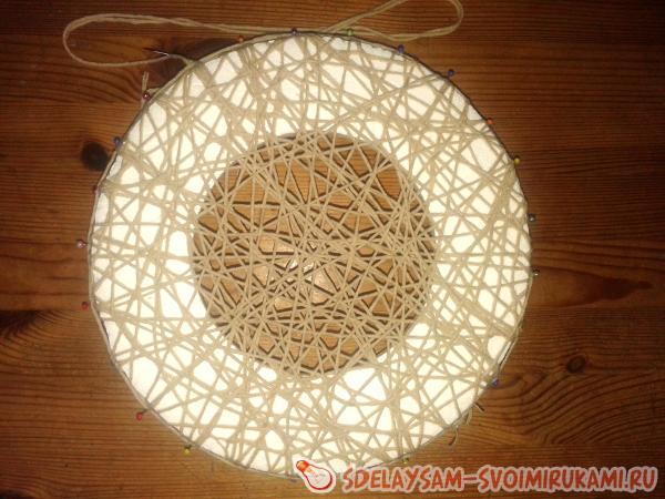 плетем салфетку
