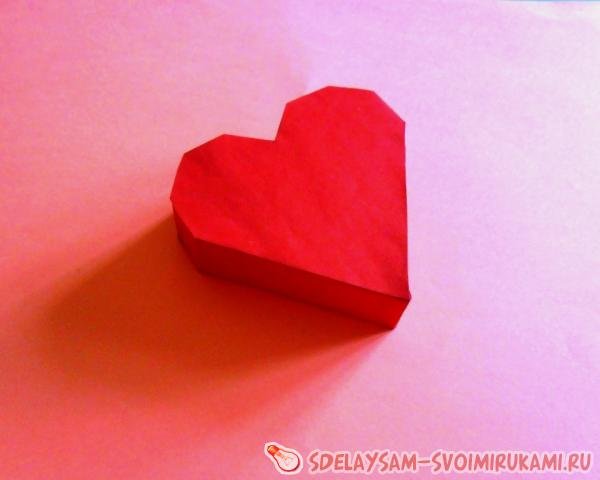 gift heart-shaped box