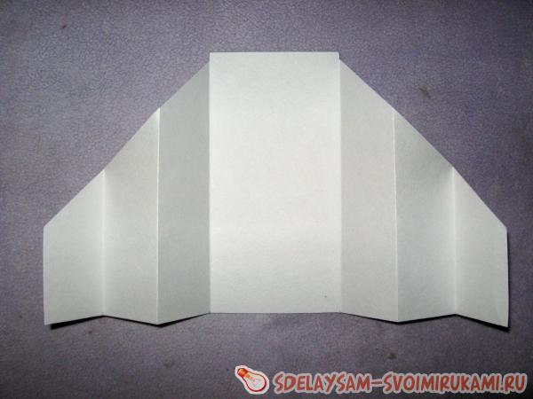 Fold the base