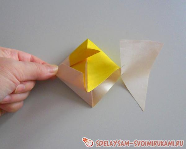 Simple paper fish