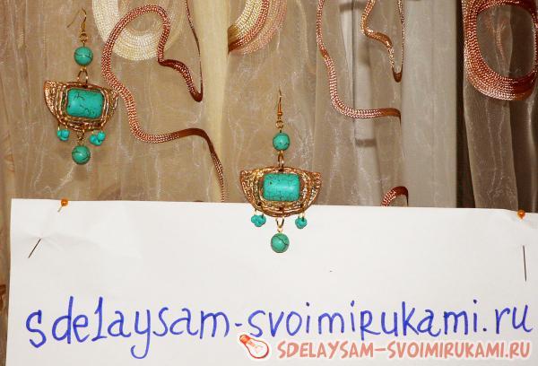 Egyptian earrings do it yourself