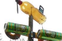 ТV антенна с флюгером
