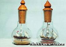 Как засунуть кораблик в лампочку