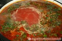 Delicious Homemade Borscht