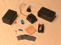 Самодельная лазерная охранная сигнализация