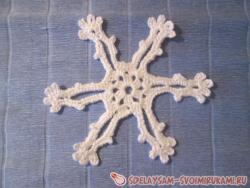Crochet crochet snowflakes