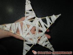Звезда из ленты