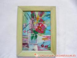Plasticine painting