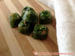 Preparation for soup and broth