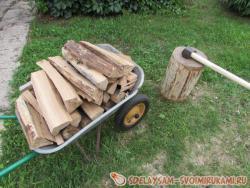 Как правильно колоть дрова – советы профессионалов