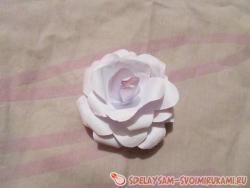 Цветок из бумаги «Гармония»