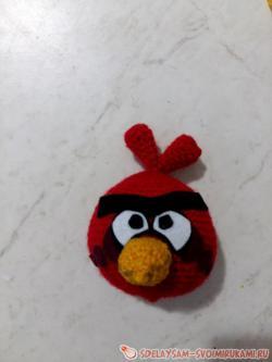 Птичье амигуруми – Ред из Angry Birds