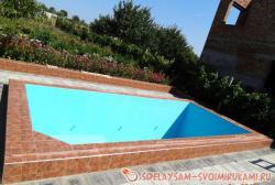 Гидроизоляция бассейна, заменяющая керамическую плитку