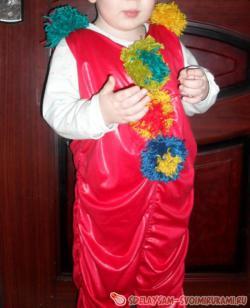 Новогодний костюм «Клоун» за час