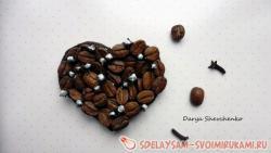 Кофейный магнитик