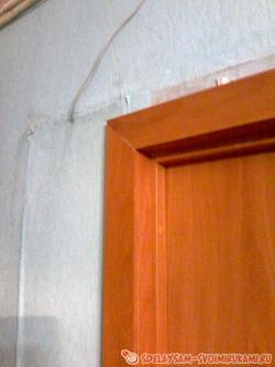 Оформление межкомнатной двери: доборные элементы и обналичники