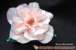 Упаковка для подарка «Нежный цветок»