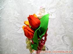 Мастер-класс подвеска-сердце «Весна»