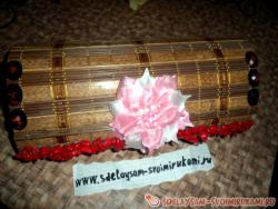 Casket from a wooden napkin