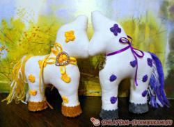 Мягкая игрушка «подружка - лошадка» своими руками