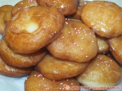 Deep-fried donuts