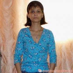 Рубашка женская на молнии