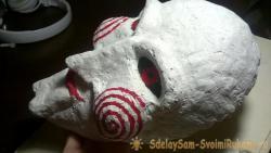 Как сделать маску из папье-маше