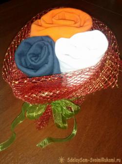 A bouquet of panties - an original gift for 23 February