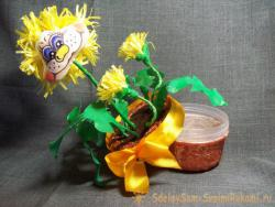 Шкатулка - сувенир «Одуванчик»