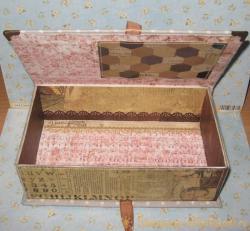 Мужская купюрница или коробка для фото