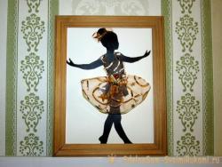 Панно-картина «Маленькая балеринка»