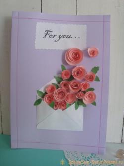 Красивая и нежная открытка