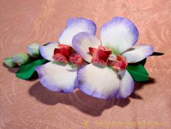 Мастер-класс зажима «Орхидея»