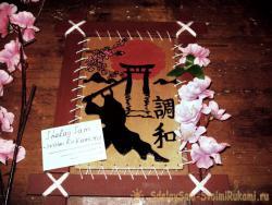 Японское панно «Гармония»