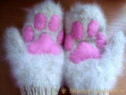 Decor of the mittens