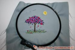 Beautiful embroidery in the