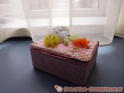 Wedding Jewelry Box for Money or Rings