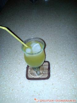 Напиток лимонно-медовый