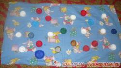 Массажный коврик для ребенка своими руками