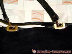 Как отремонтировать крепления ручек на сумке