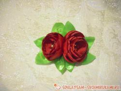Ззаколка «Цветущие тюльпаны»