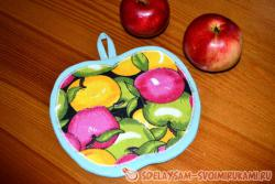 Прихватка «Яблоко»