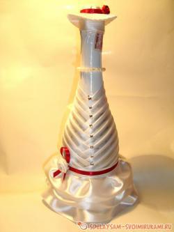Свадебная бутылка-невеста