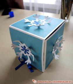 Новогодняя коробочка
