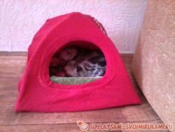 Домик-палатка для питомца