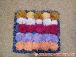Детский массажный коврик для ног