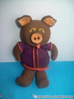 Children's clay craft