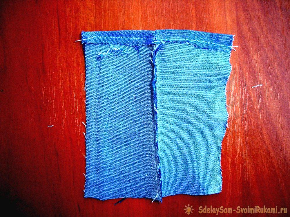 Как сделать выкройку джинсов для куклы