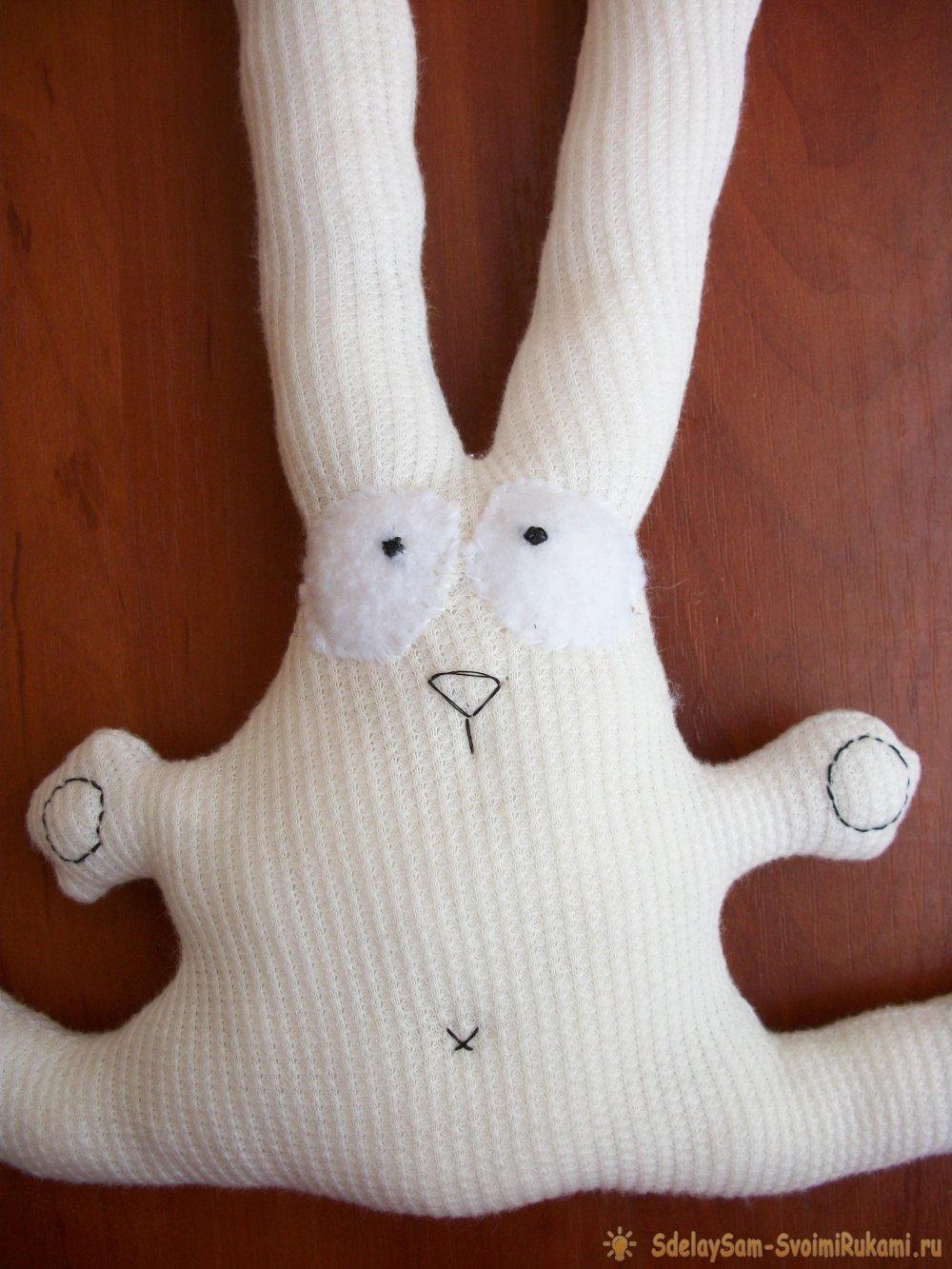 Как сделать зайку своими руками в домашних условиях